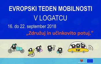 Evropski teden mobilnosti in Dan brez avtomobila v Logatcu 2018