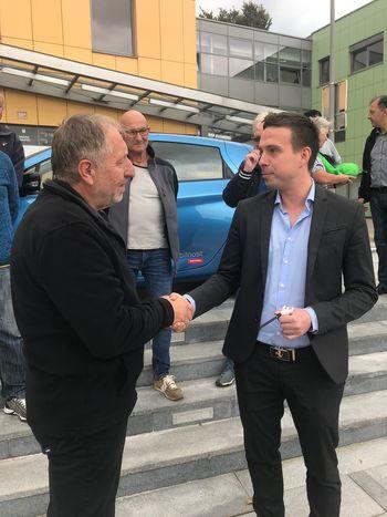 Prostoferja predali v roke prostovoljcem – voznikom