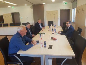O črpanju sredstev iz kohezije z ministrom Černačem