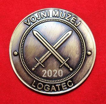 Spominski kovanec Vojnega muzeja Logatec 1515