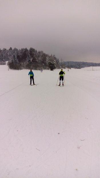 Za individualno rekreacijo so pripravljene tekaške proge