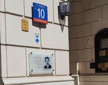 V Varšavi postavljena spominska plošča 'pravičniku med narodi' - France Punčuh