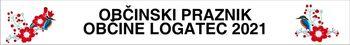 Povabilo - mimohod praporistov s praporji na dogodku ob Občinskem prazniku občine Logatec 2021