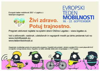 Evropski teden mobilnosti 2021 v Logatcu