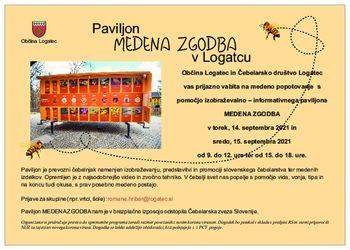 Paviljon Medena zgodba v Logatcu