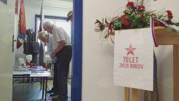 4.julij 2018 -70 LET ZB NOB - Slovesnost v Lazah, odprtje Spominske sobe v Logatcu