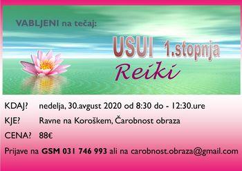 REIKI USUI-1.stopnja