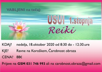 Reiki USUI - 1.stopnja