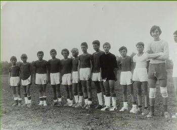 Ekipa pionirjev NK Podpeč