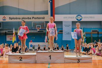 Na 21. Državnem prvenstvu v twirlingu Slovenije v Luciji v Portorožu
