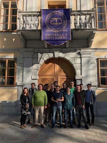 Obisk avstrijskih študentov