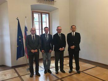 Univerzo v Novi Gorici obiskal veleposlanik Japonske