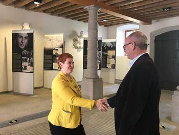 Obisk avstrijske veleposlanice