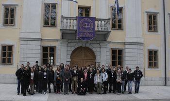 Prvo srečanje CEEPUS mreže Astro.CE na Univerzi v Novi Gorici v dvorcu Lanthieri