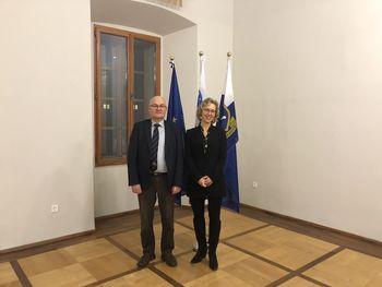 Univerzo v Novi Gorici obiskala francoska veleposlanica
