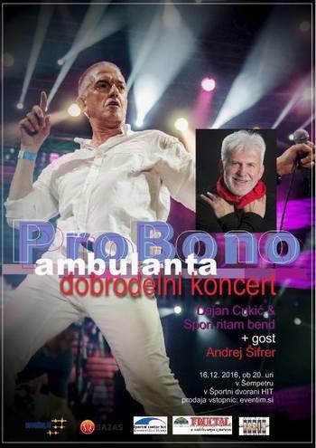 Koncert za Pro bono ambulanto
