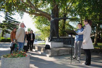 Igor Lah, sin kiparke Milene Stibilj Lah, danes v Ajdovščini