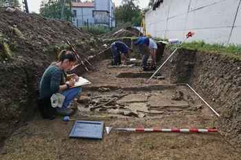 Odkrili poznorimsko nekropolo