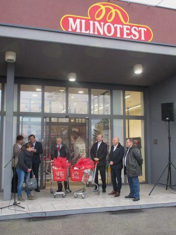 Prenovljena Mlinotestova trgovina odprla vrata