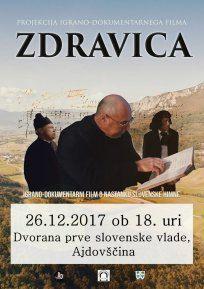 Zdravica - film o slovenski himni za praznik v Ajdovščini