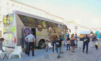 Turneja z burja busom Vipavska dolina doma in v tujini