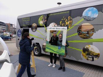 Burja bus na obisku v Pragi in Italiji