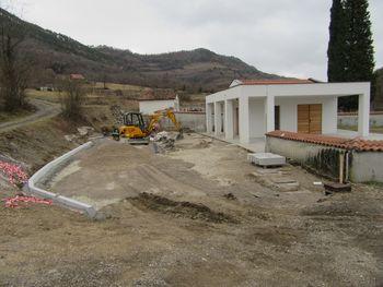 Prenova pokopališča v Gaberjah