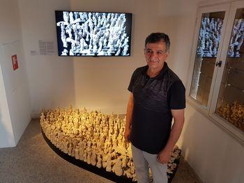 Z Azadom Karimom na Beneški bienale