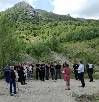 Enote civilne zaščite Slovenije in Italije krepijo povezanost