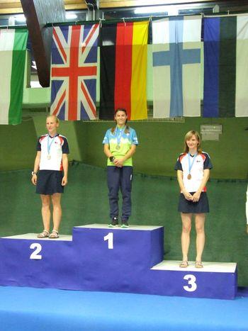 Ana Čufer evropska prvakinja