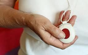 Rdeči gumb – varovanje na daljavo