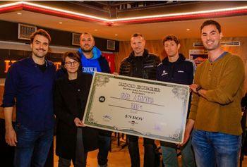 Tisoč evrov za košarkarsko igrišče