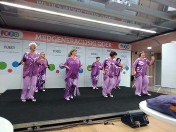 Plesna skupina Ajda aktivna tudi v času karantene