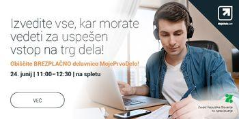 Brezplačni spletni karierni sejem MojeDelo.com: boljša zaposlitev v regiji na dosegu računalnika