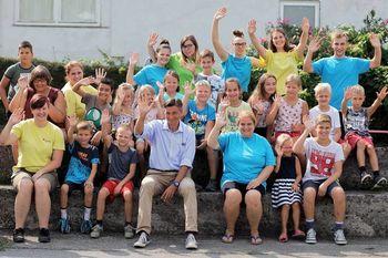 Na počitnicah v Vrhpolju nas je obiskal predsednik države gospod Borut Pahor
