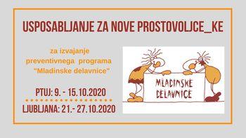Prostovoljstvo: pridruži se programu 'Mladinske delavnice'
