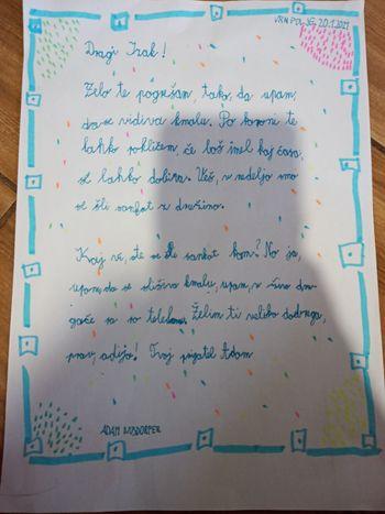 Teden pisanja z roko na OŠ Draga Bajca Vipava