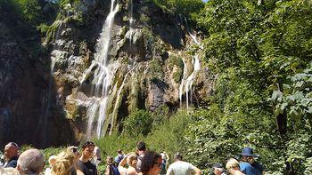 Pozdravila so nas Plitvička jezera