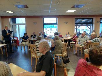 Srečanje starejših in težjih invalidov