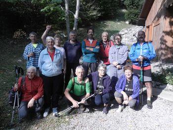 Aktivni upokojenci planinske sekcije Kamnje