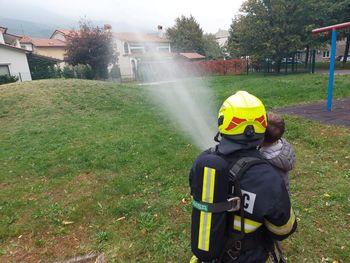 Mlade ozaveščali o pomenu požarne varnosti