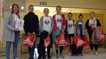 Na Debeli rtič odhaja ekipa prve pomoči Osnovne šole Šempeter v Savinjski dolini