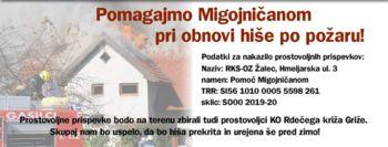V začetku novembra bodo začeli obnavljati hišo v Migojnicah