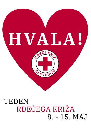 Rdeči križ Slovenije igra pomembno vlogo pri odzivanju na nujne primere