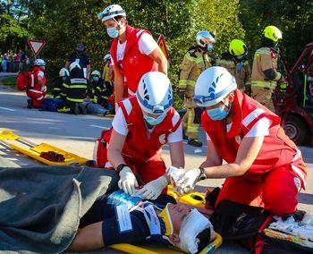Pridružite se nam: bodite bolničar/bolničarka Rdečega križa Slovenije
