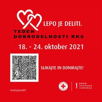 Teden dobrodelnosti Rdečega križa Slovenije