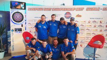 Ekipa pikado team Gabrijelov barček ŠD Vučja vas osvojila 5. mesto na Evropskem prvenstvu v Caorlah (Italija)