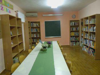 Otvoritev knjižnice na Slapu