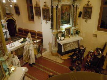 Slapenske otroke je obiskal sveti Miklavž