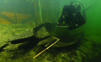 Ljubljanica prejela UNESCO znak najboljših praks za podvodno kulturno dediščino